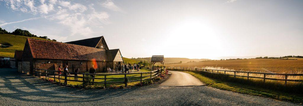 Long Furlong Barn by Jenny Rutterford