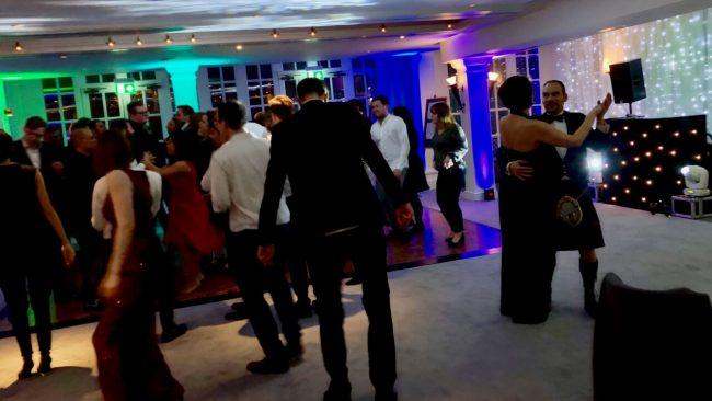 Full dance floor, Hampton Court Palace Xmas Party