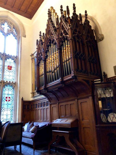 Nutfield Priory and Spa - the organ
