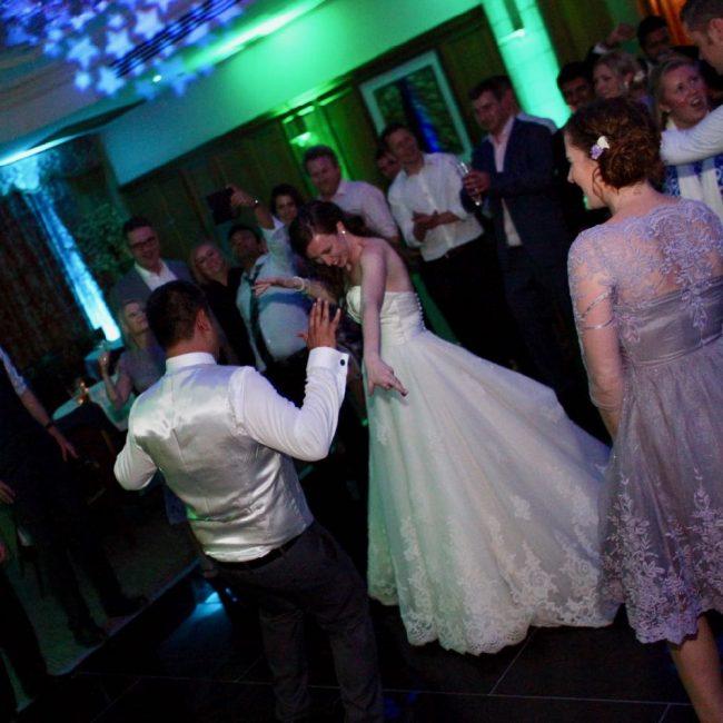 Fiona and Anuraag dancing