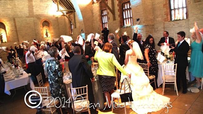 Wedding at Tithe Barn