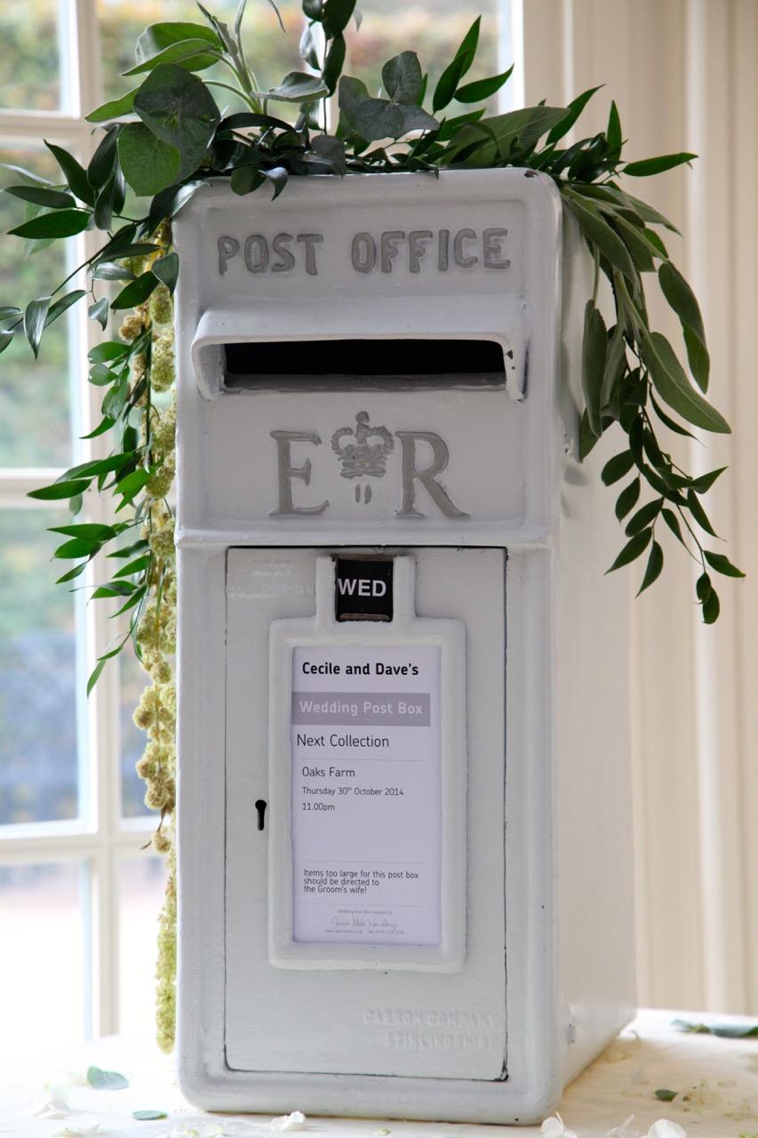 Wedding letterbox hire DJ Brian Mole