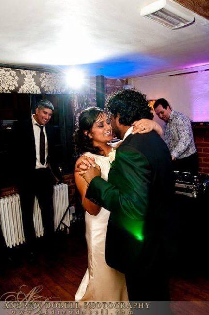 Intimate wedding in Dorking, Surrey