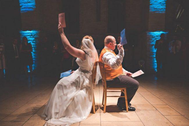 (c) Rob Burress, Shootinghip, 2018. Mr & Mrs newlyweds game