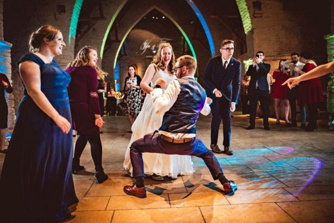 (c) Rob Burress, Shootinghip, 2018. The wedding party DJ