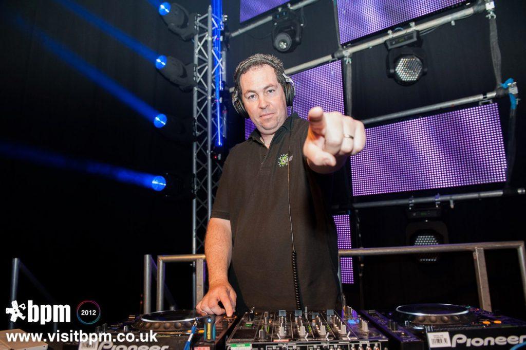 DJ Brian Mole, Main stage set at the NEC Birmingham for BPM 2012
