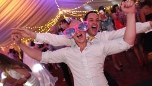 The wedding party DJ